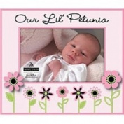 JAF Gifts 4x6 Our Little Petunia Picture Frame