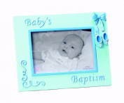 Russ Berrie Small Blessings Baptism Glass Photo Frame