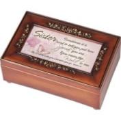 Cottage Garden 15763455 Sister Inspirational Decorative Rose Music Box