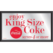 Coca-Cola Vintage Mirror, Enjoy King Size Coke with Circle