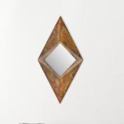 Safavieh 113cm x 58cm Copper Framed Mirror MIR3008A