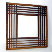 Wayborn Furniture 4820 Brown Plantation Mirror