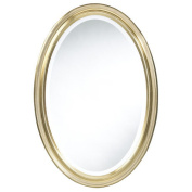 Blake Oval Antique Gold Mirror