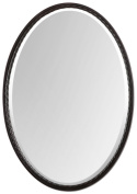 Uttermost 01116 Casalina Oil Rubbed Bronze Oval Mirror