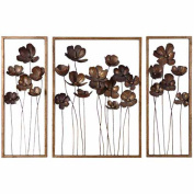 Grace Feyock Mirror Metal Tulips, S/3 by Uttermost 12785