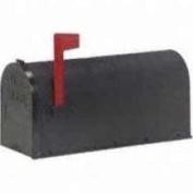 Fulton PX-1B U.S. no.1 Plastic Rural Mailbox, Black