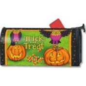 MagnetWorks Trick or Treat Owls Mailbox Cover
