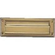 Mintcraft HR6001PB-3L - Mailslot 7inx3.8cm Sol Brass
