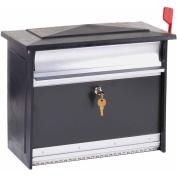 Solar Group Inc MSK0000B Extra-Large Black Mailsafe Lockable Security Mailbox
