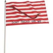 US Flag Store 1st Navy Jack 30cm x 46cm  - Don't Tread on Me Flag