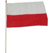 US Flag Store Poland National Flag 30cm x 46cm