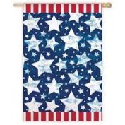 Starburst Patriotic Flag - Garden