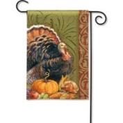 Magnet Works Thanksgiving Greeting Garden Flag