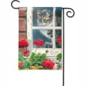 Magnet Works Look Out Garden Flag - MAIL35952