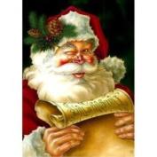 Santa's List - Christmas Garden Flag