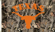 Bsi Products 95434 3 Ft. X 5 Ft. Flag W/Grommets - Realtree Camo Background - Texas Longhorns