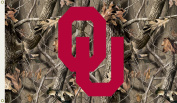 Bsi Products 95419 3 Ft. X 5 Ft. Flag W/Grommets - Realtree Camo Background - Oklahoma Sooners