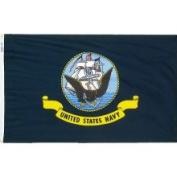 Annin Flagmakers 439030 3 ft. x 5 ft. Nylon-Glo Flag - U.S. Navy