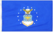 Annin Flagmakers Outdoor Flags 0.9m x 1.5m U.S. Air Force Armed Forces Flag 439010