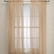 Stylemaster Bedding Elegance Sheer 84 Window Panel