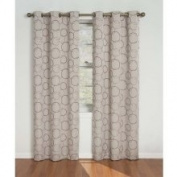 Eclipse Curtains Meridian Grommet Blackout Window Panel in Linen