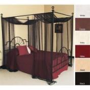 Mombasa Sheer Life Style Mombasa 100-percent Polyester 130-mesh Sheer Netting Panel (21' x 64)