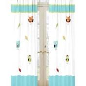JoJo Designs Hooty Owl Drapes