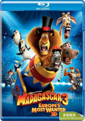 Madagascar 3 - Europe'S Most Wanted Superset [3D BR DVD DC] [Region 4] [Blu-ray]
