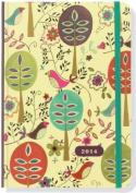2014 Sm Folk Art Birds Calendar