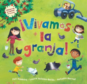 Vivamos la Granja! [With CD (Audio)] = A Farmer's Life for Me! [Spanish]