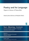 Poetry and its Language