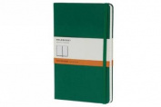 Moleskine Classic Notebook, Pocket, Ruled, Oxide Green, Hard Cover (3.5 x 5.5)