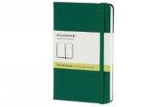 Moleskine Classic Notebook, Pocket, Plain, Oxide Green, Hard Cover (3.5 x 5.5)