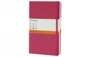 Moleskine Classic Notebook, Pocket, Ruled, Magenta, Hard Cover (3.5 x 5.5)