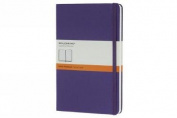 Moleskine Classic Notebook, Pocket, Ruled, Brilliant Violet, Hard Cover (3.5 x 5.5)