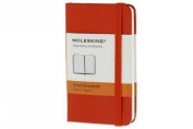 Moleskine Classic Notebook, Extra Small, Plain, Red, Hard Cover (2.5 x 4)