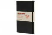 Moleskine Mickey Mouse Limited Edition Large Plain Notebook Hard