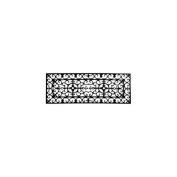 Imports Decor 801 RBM Stair Mat Rubber Doormat