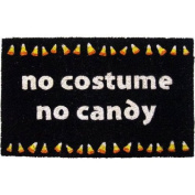 Entryways P977 No Candy Coir Nonslip Doormat, 43cm x 71cm