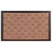 Imports Decor 861SMT-L Synthetic Rubber Mat - Brown