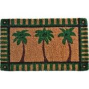 Imports Decor Palm Tree Doormat Rug Size