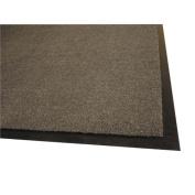 Genuine Joe GJO56352 Indoor Mat- Moisture Absorbent- Vinyl Back- 3ft.x5ft.- Charcoal