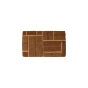 Imports Decor 692TCM Yellow Brick Contemporary Coir Doormat