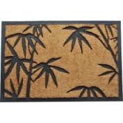 DC MILLS 10004 Tuff Brush Palm Leaves Door Mat 24 X 36 Inches
