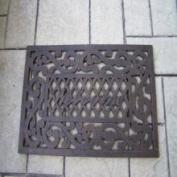 Oakland Living 5090-AB Welcome Doormat Front Door Mat, Antique
