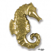 Michael Healy MH1201 Brass Seahorse Door Knocker