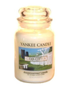 Yankee Candle Housewarmer Clean Cotton Large Classic Candle Jar