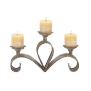 Woodland 52918 Metal Candle Holder 15W, 9H