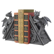 Toscano CL-55773 Gothic Castle Dragons Bookends