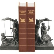 Sterling Industries 93-7451 Accents Home Decor Bookends; Swing